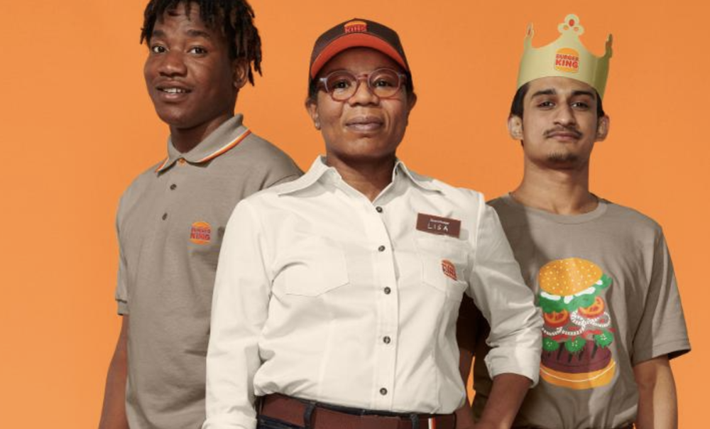 Burger King changes its logo for the first time in 20 years and now it looks like this