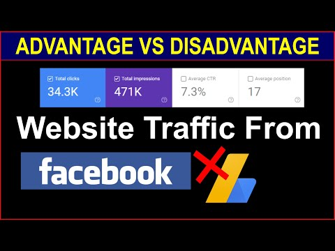 Website Traffic From Facebook   Advantages vs Disadvantages
