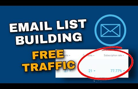 How to build an email list fast and for free (email list building strategy)