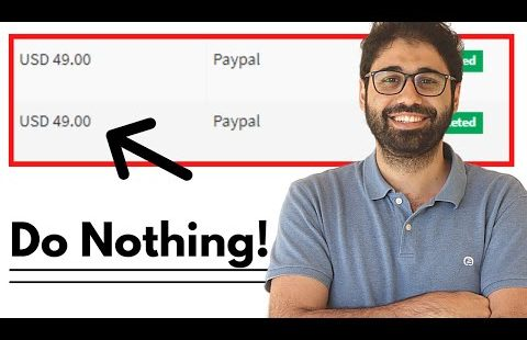Make Money Online Doing Nothing! 200$/Month SAASAG Extra Income???