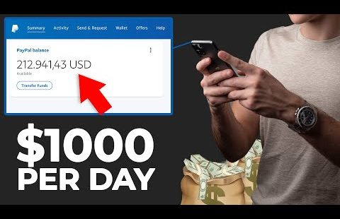 NEW App Pays $1000/Day For Using Your PHONE (Make Money Online)