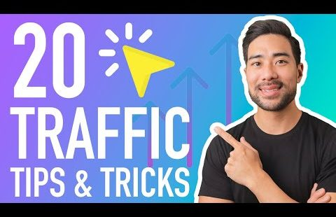 HOW TO INCREASE WEBSITE TRAFFIC // 20 Quick-Fire Traffic Tips