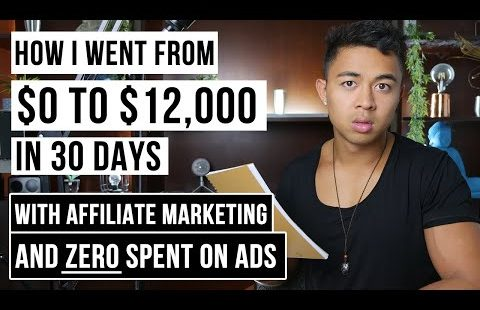 Affiliate Marketing Tutorial For Beginners | $0 to $12k+ Per Month in 30 Days | FREE Traffic Method