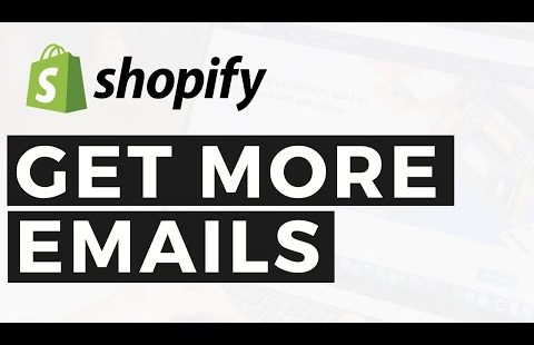 How to Build an Email List on Shopify: How to Collect Emails Shopify – Email Marketing Shopify