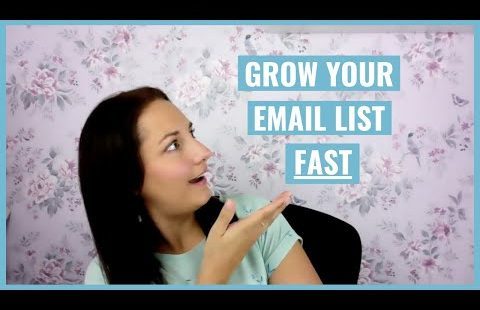 Author Newsletter: How to build an email list FAST
