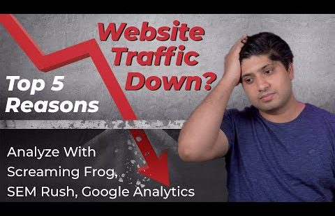 Top 5 Reasons Why Your Website Traffic Dropped Suddenly -How To Find Reasons of Website Traffic Drop