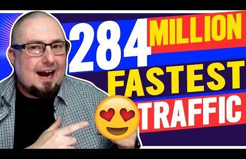 284 Million Visits: Get Targeted Website Traffic Fast