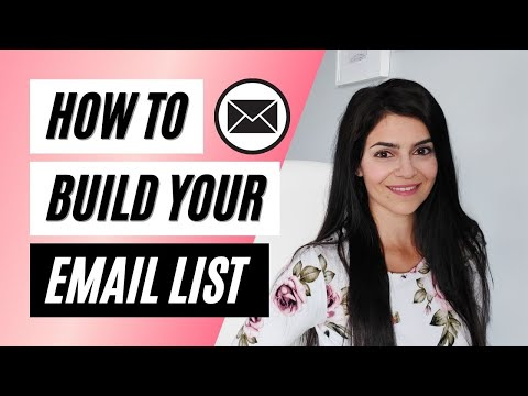 How to Build an Email List FAST from 0 to 10,000 SUBSCRIBERS