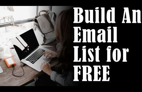 How to Build An Email List With Facebook For FREE & FAST | Email Marketing