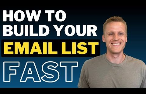 How to Build an Email List Fast and for Free (Get Your First 1000 Email Subscribers)