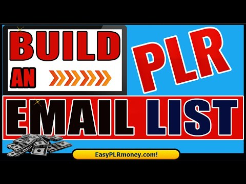 How to build an email list using plr ebooks | How to capture leads using plr ebooks | Free Plugin
