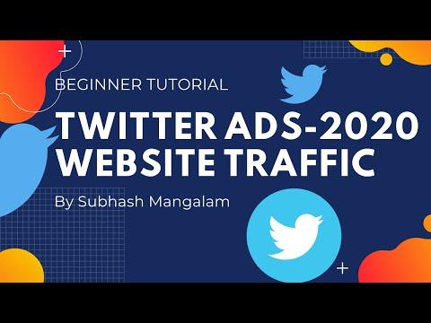 Twitter Ads 2020   How to Increase Website Traffic Through Twitter Ads   Beginner Tutorial 2020